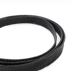 1 Meter Retardant Nylon Braided Sleeving 8mm Black PET Cable For 3D Printer