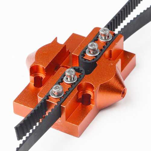 M3/M4 Metal Pulley Sliding Gauge Hammock Lifting Platform Effector for Delta3D Printer Part