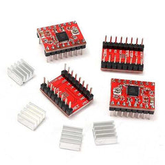 CNC Shield Board + 4Pcs A4988 Stepper Motor Driver For  3D Printer