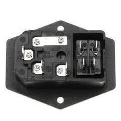 220V/110V 5A Power Outlet Socket With Switch And 6A Fuse For 3D Printer