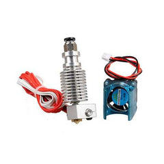 3PCS Geekcreit?® 0.4mm V6 1.75mm Long Distance Metal Extruder Nozzle With Cooling Fan Set for 3D Printer