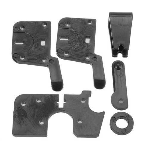 Pom Injection Molding Feeder Clamp Assembly Set for Ultimaker Extruder Drive Part 3D Printer