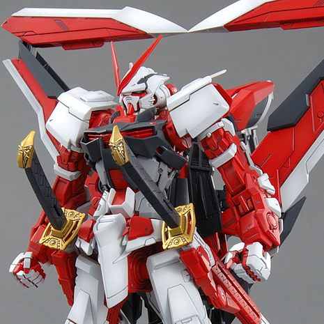 MG Gundam Astray Red Frame Lowe Guele's Customize Mobile Suit - 1/100 - gundam-store.dk