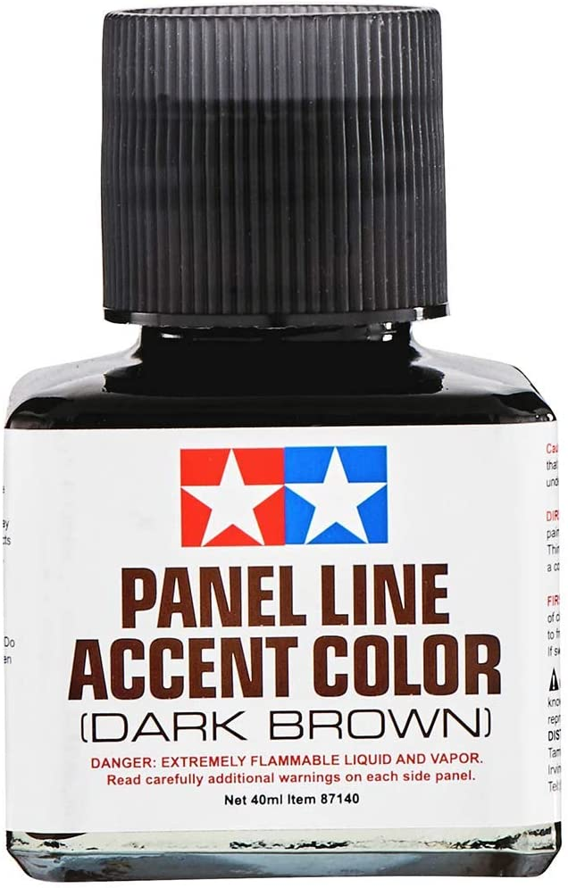 Tamiya - Panel Line Accent Color Dark Brown (40ml)
