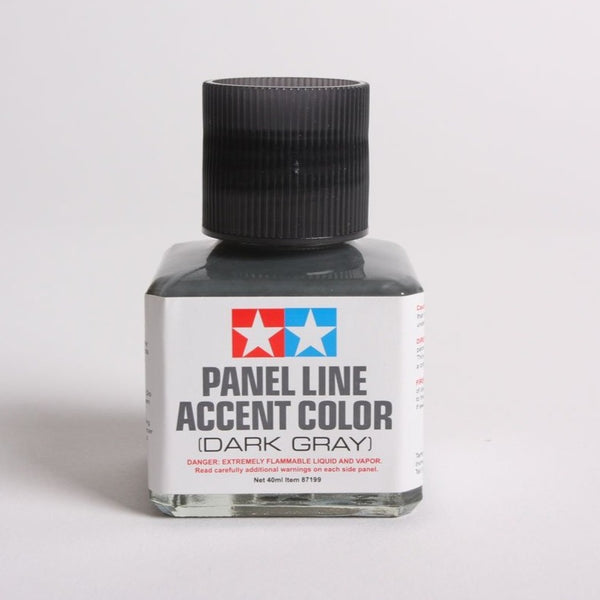 Tamiya - Panel Line Accent Color Dark Gray (40ml)