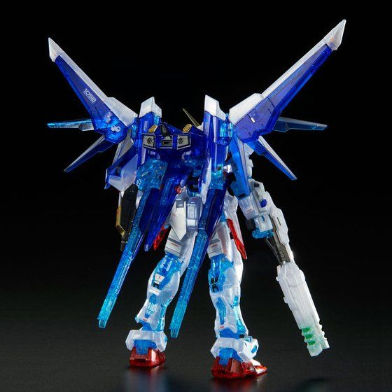 RG Gundam Build Strike Full Package Clear 1/144 *Premium Bandai* - gundam-store.dk