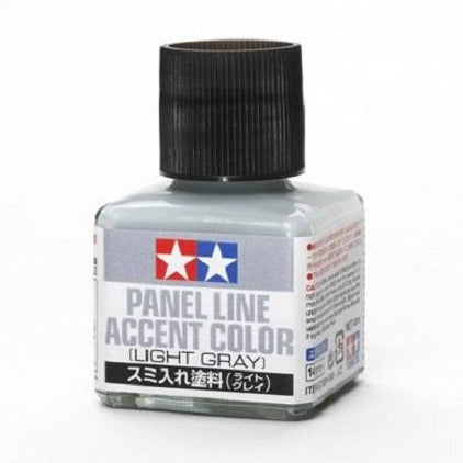 Tamiya - Panel Line Accent Color Light Gray (40ml)