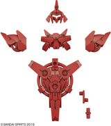 30MM Option Armor for Commander (Portanova Exclusive / Red)