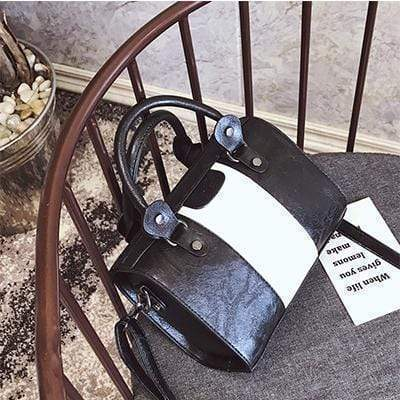 Striped Women's Handbag - Very Goodeals