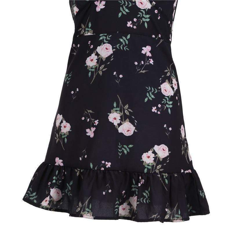Women's Bohemian Floral V neck - Very Goodeals
