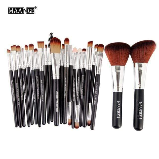 20/22Pcs All in One Make Up Brush Tool Kit - Very Goodeals