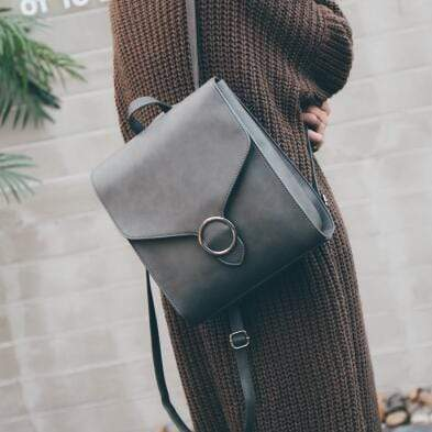 Button Shoulder Bag - Very Goodeals