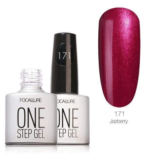 One Step UV Gel 3 in 1 Gel Polish Gel LED Soak off Long Gel Nail Polish - Very Goodeals