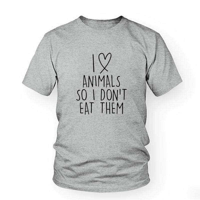 Animal Love Vegan Tee - Very Goodeals