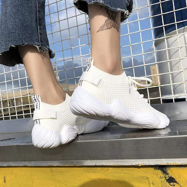 Knitted Orthopedic Women's Sneakers - Very Goodeals