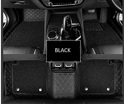7D Floor Mats Compatible With Toyota Fortuner [2016-2020]