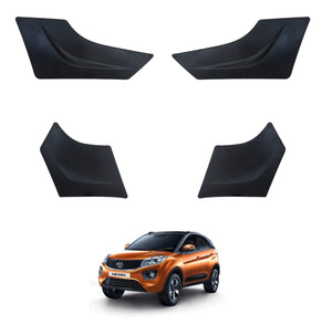 Hi Art Car Bumper Scratch Protector Compatible with Tata Nexon, Set of 4