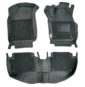 7D Floor Mats Compatible With Skoda Rapid
