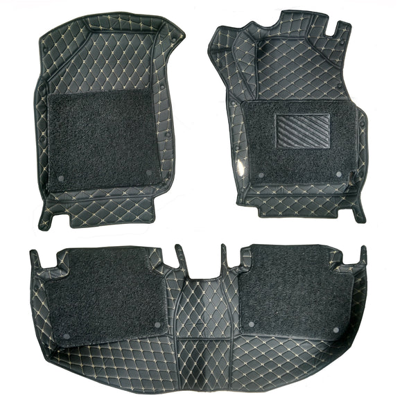 7D Floor Mats Compatible With Maruti Suzuki Alto K10 (2015-2020)