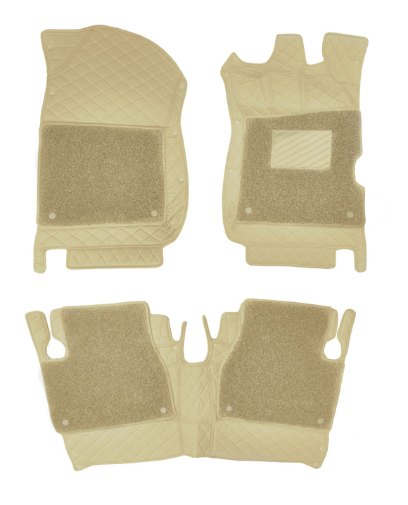 7D Floor Mats Compatible With Mahindra Scorpio