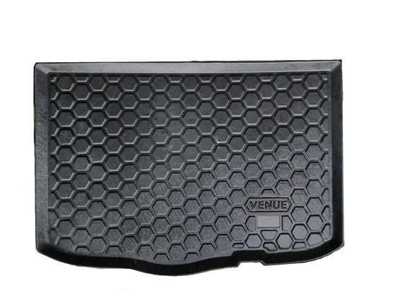 Rear Tray Trunk or Boot Mat Compatible With Hyundai Venue