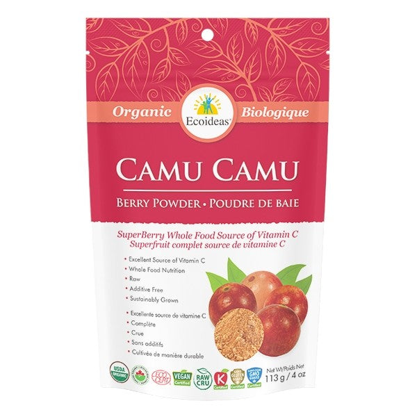 CAMU BERRY POWDER- ORG RAW (113G)