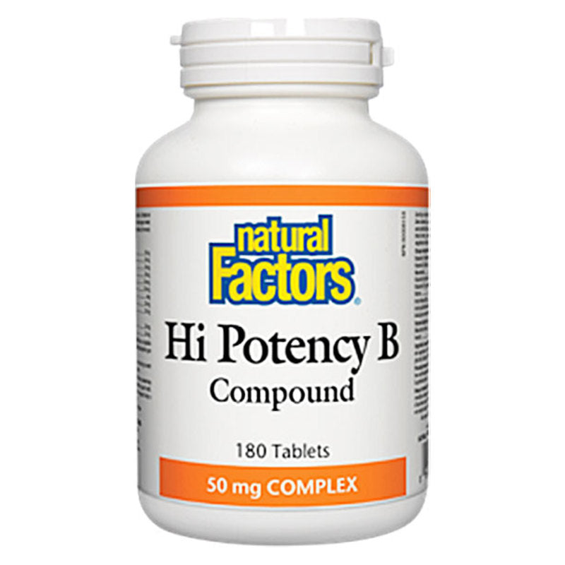 HI POTENCY B COMPOUND 180 TABLETS