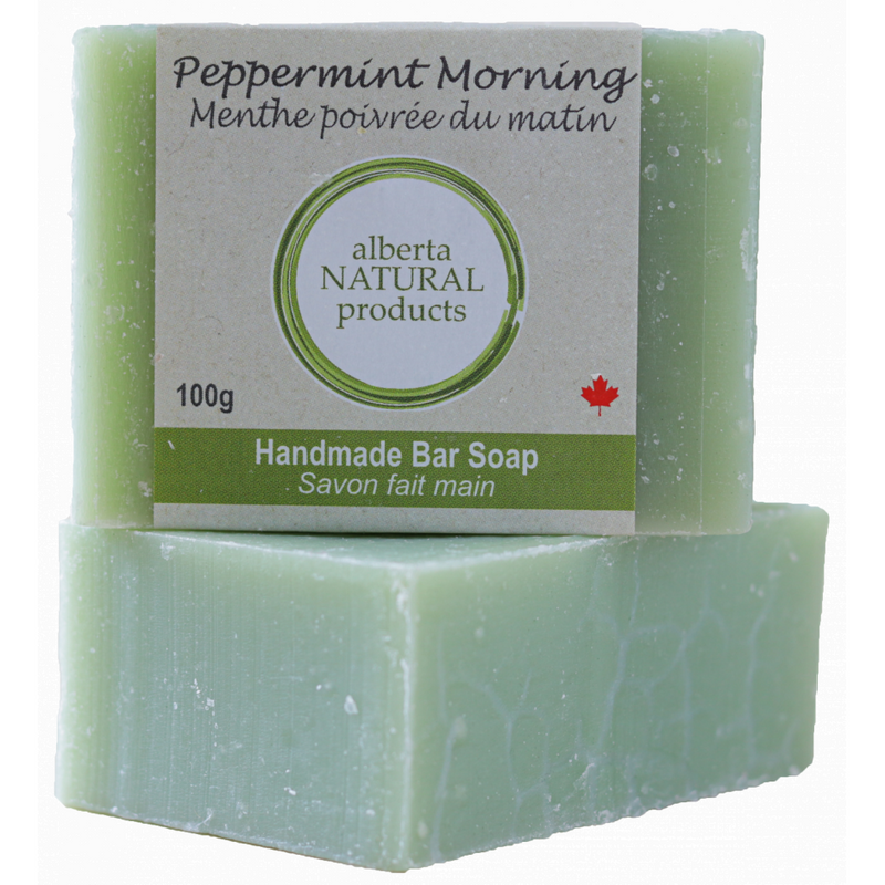PEPPERMINT MORNING SOAP 100G