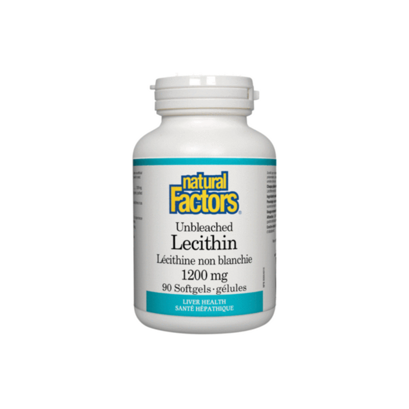 UNBLEACHED LECITHIN 1200 MG 90 SOFTGELS