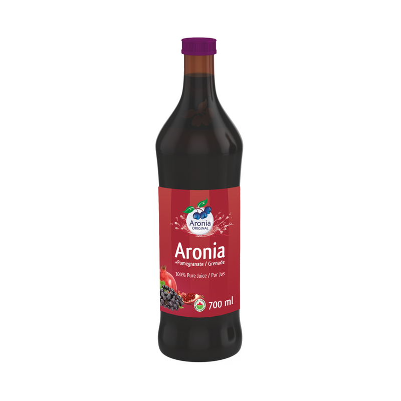 ARONIA 100%  WITH POMEGRANATE JUICE 700ML