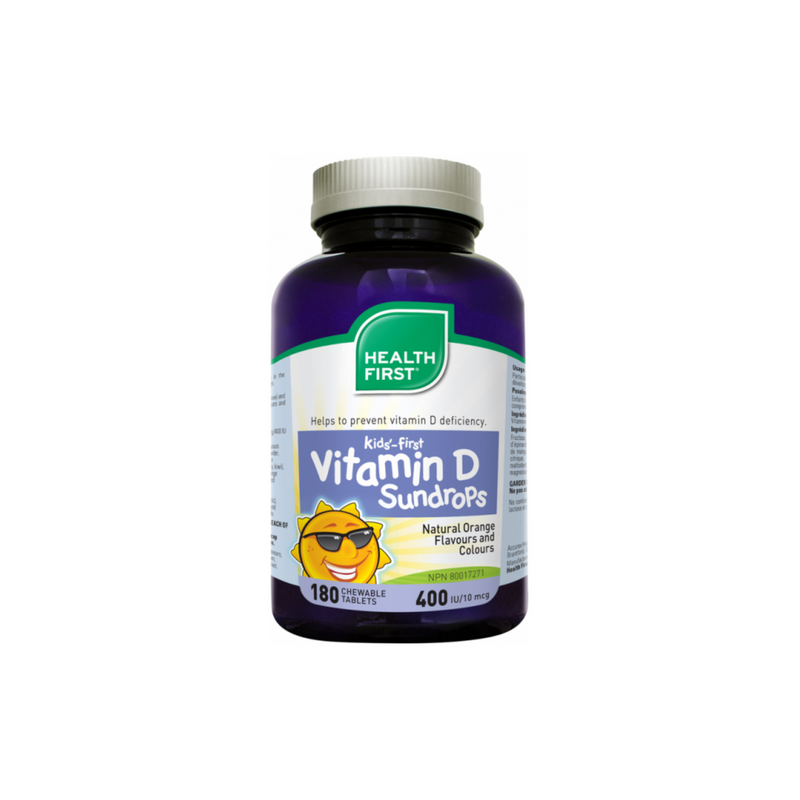 VITAMIN-D KIDS 180 CHEWABLES