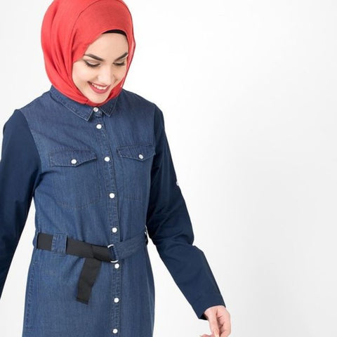 denim-abaya-design