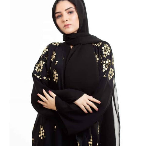 floral-embroidery-abayas