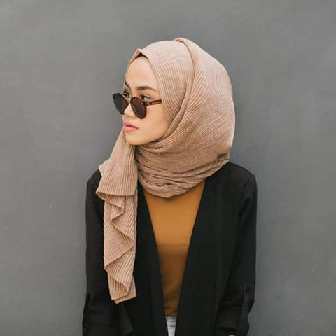 one side drape hijab