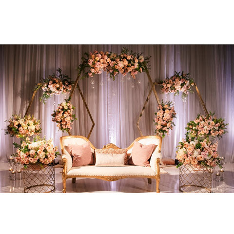 night wedding arrangement