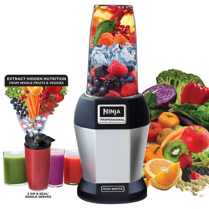 Nutri Ninja Pro Single Serve Blender Auto iQ BL455