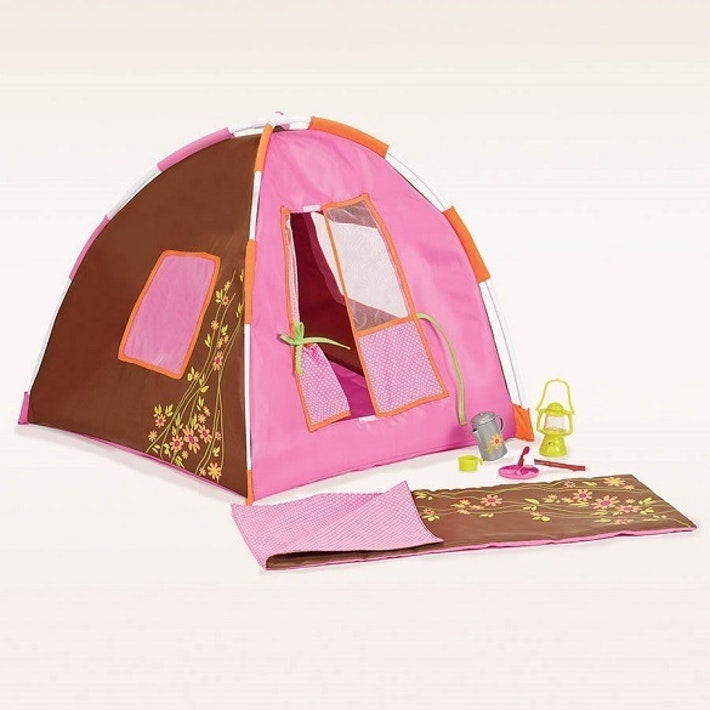 Our Generation® Polka Dot Camping Set™