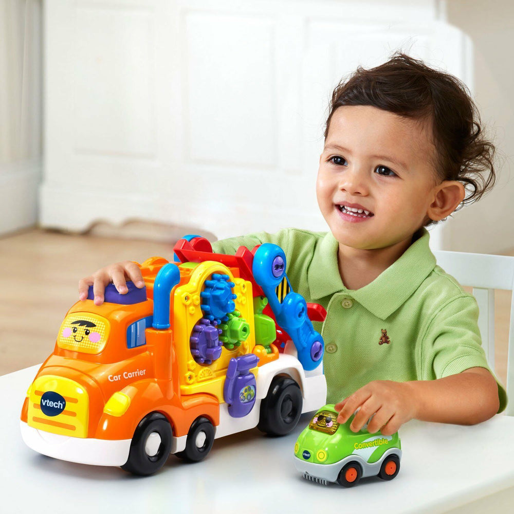Baby Activity Toy Toddler Kids Deluxe Car Carrier Pretend Play Learning Music