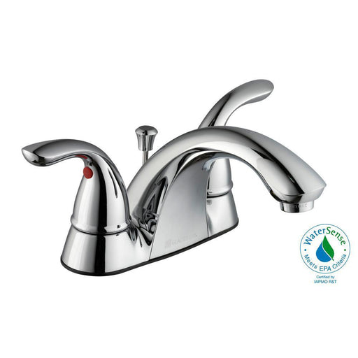Glacier Bay Builders bath faucet chrome finish model 505838
