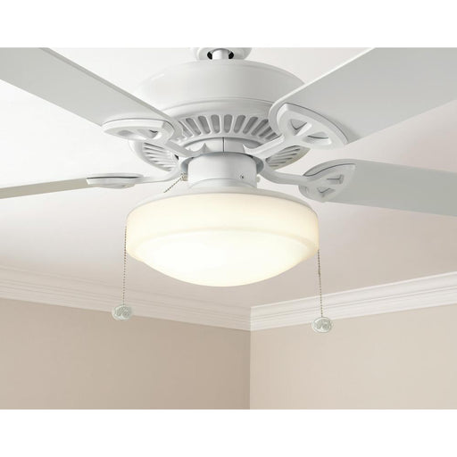 11 in. Warm and Bright White Light Universal LED Ceiling Fan Light Kit