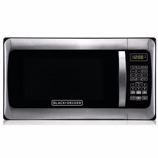 Black & Decker 1000W ( 1.1 cu. ft. ) Microwave Stainless Steel - NEW