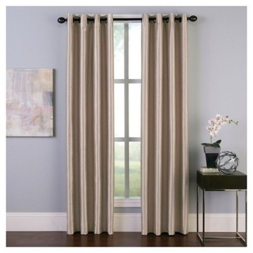 "Curtainworks Malta Room Darkening Curtain Panel (50"" x 95"")"