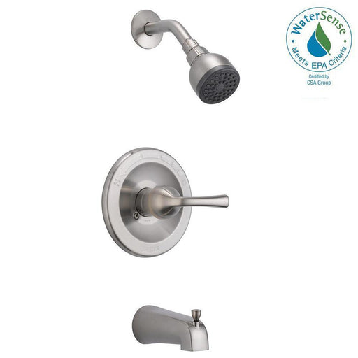 Delta 1-Handle 1-Spray Tub & Shower Faucet in Chrome, B114900