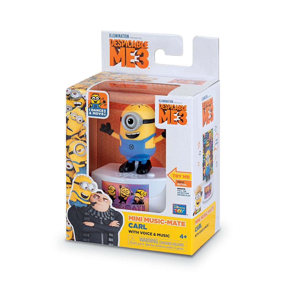 Despicable Me 3 Minion Music-Mate Carl with Voice and Music