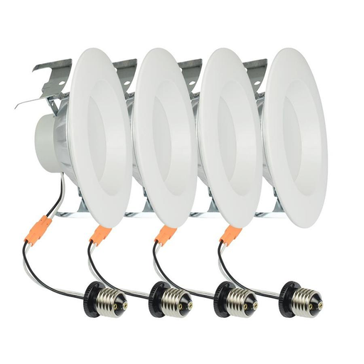 Project Source 4-Pack 65-Watt Equivalent White