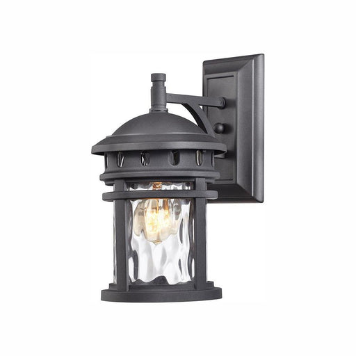 Home Decorators Collection 1-Light Black Outdoor Wall Lantern Sconce (For Parts Only)