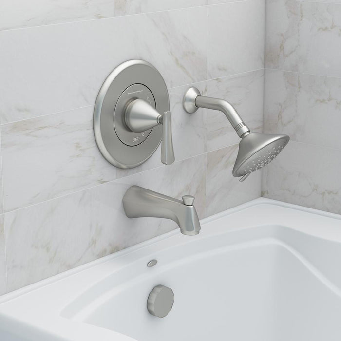 Chatfield Single-Handle 3-Spray Tub and Shower Faucet with Brushed Nickel