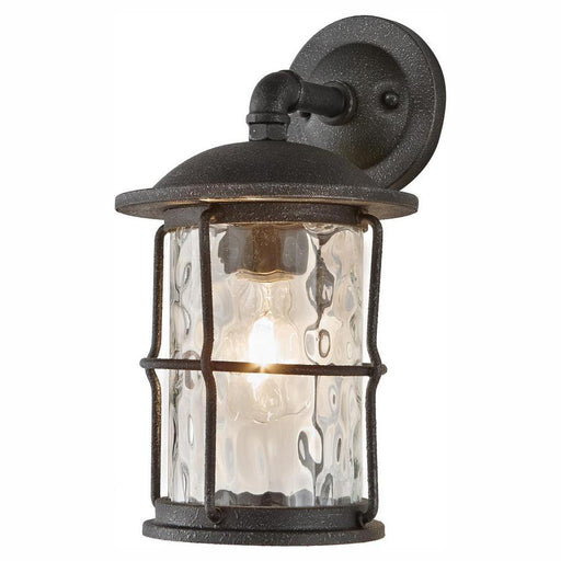 Home Decorators Collection 1-Light Gilded Iron 13.5 in. Outdoor Wall Lantern Sconce (For Parts Only)