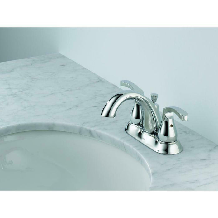 Denim 4 in. Centerset 2-Handle Bathroom Faucet in Chrome