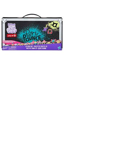Littlest Pet Shop Purr Pounce LPS Crew Case Exclusive